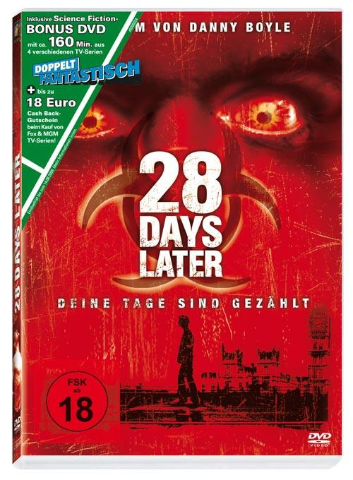 DVD Cover: 28 Days Later - Das gemischte Doppel