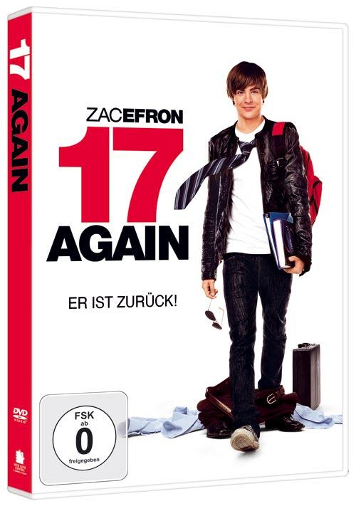 DVD Cover: 17 Again