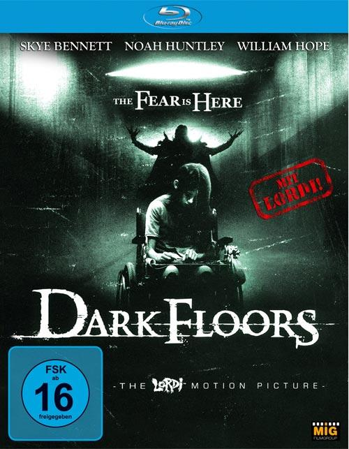DVD Cover: Dark Floors - The Lordi Motion Picture
