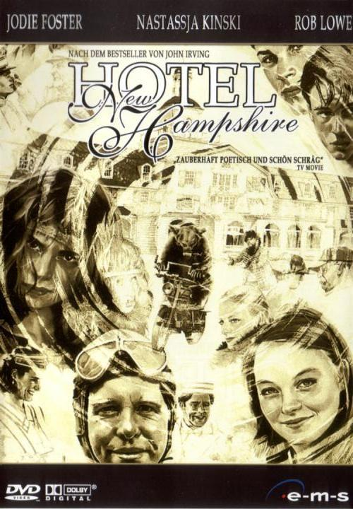 DVD Cover: Das Hotel New Hampshire