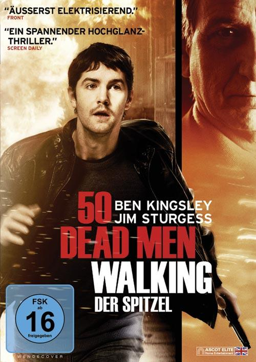 DVD Cover: 50 Dead Men Walking - Der Spitzel