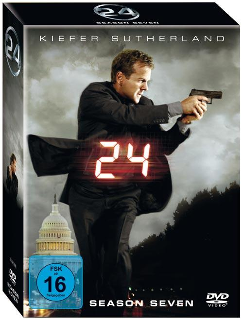 DVD Cover: 24 - twentyfour - Season 7 Box