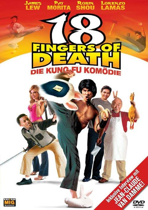 DVD Cover: 18 Fingers of Death