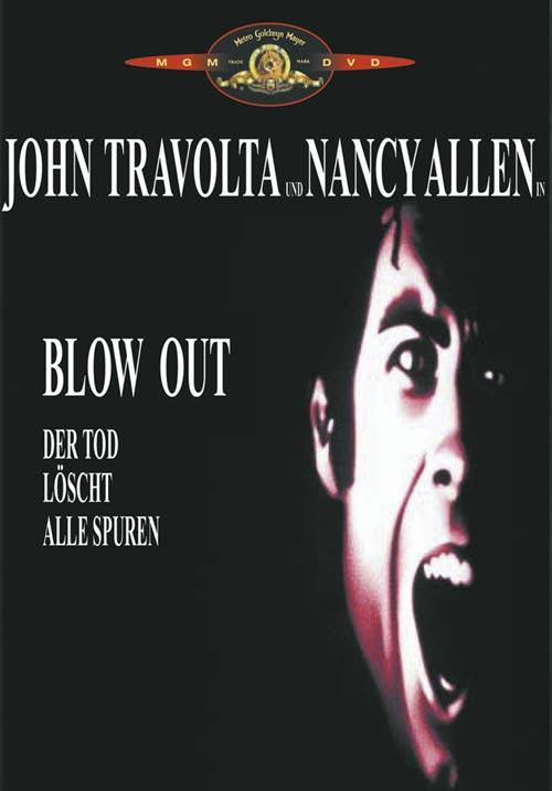 DVD Cover: Blow Out - Der Tod löscht alle Spuren