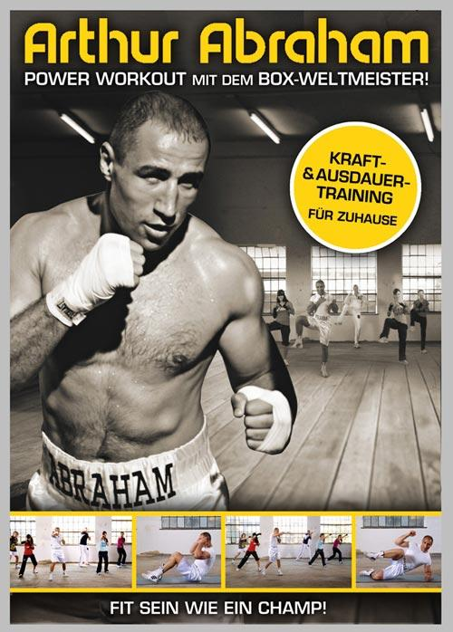 DVD Cover: Arthur Abraham - Power Workout mit dem Weltmeister!