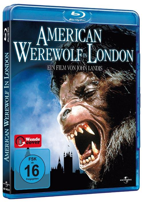 DVD Cover: American Werewolf in London