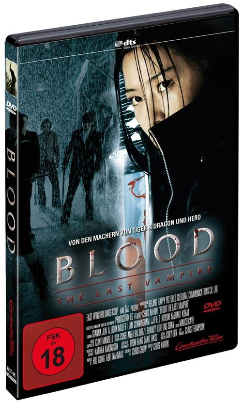 DVD Cover: Blood - The Last Vampire