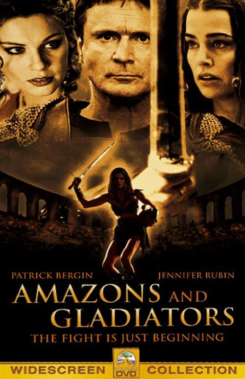 DVD Cover: Amazons and Gladiators