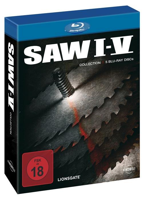 DVD Cover: SAW I-V Collection