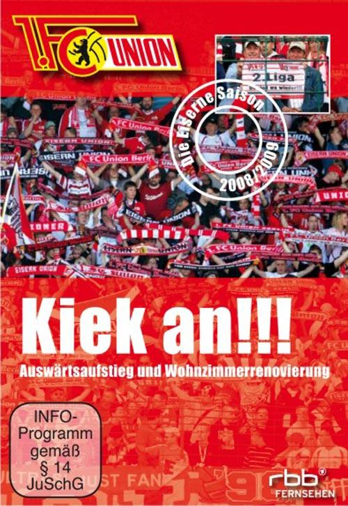 DVD Cover: 1. FC Union - Kiek an!!!