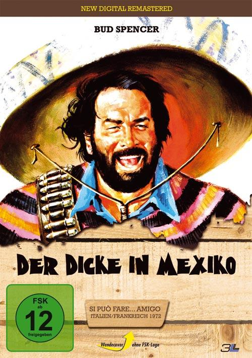 DVD Cover: Der Dicke in Mexiko - New digital remastered