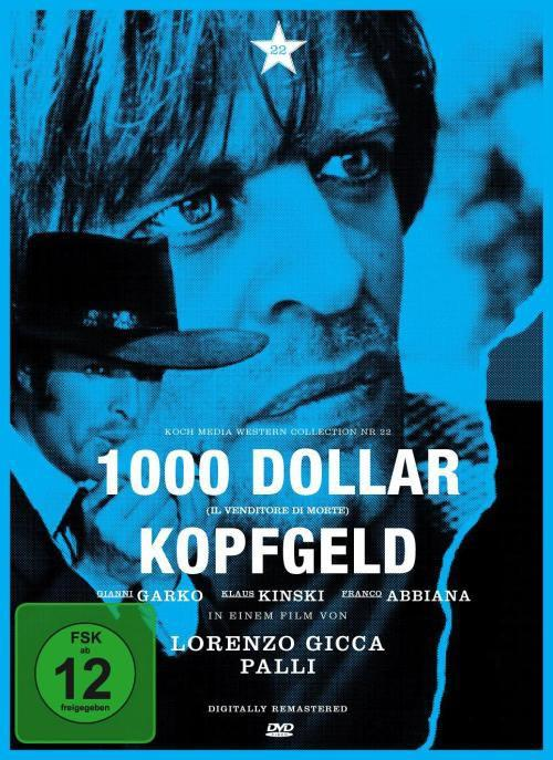 DVD Cover: 1000 Dollar Kopfgeld - Western Collection Nr. 22