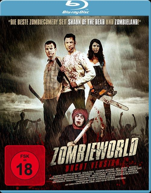 DVD Cover: Zombieworld