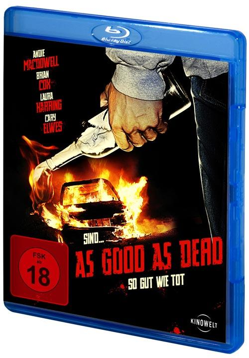 DVD Cover: As Good as Dead
