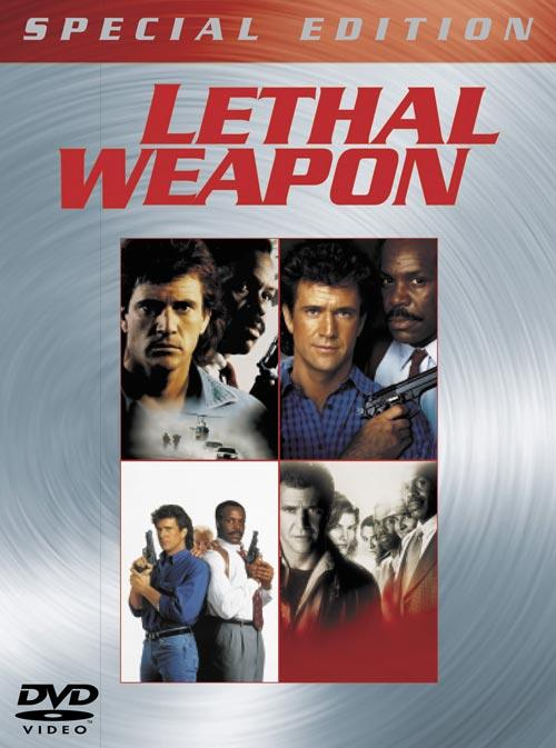 DVD Cover: Lethal Weapon - Special Edition Box (Teil 1-4)