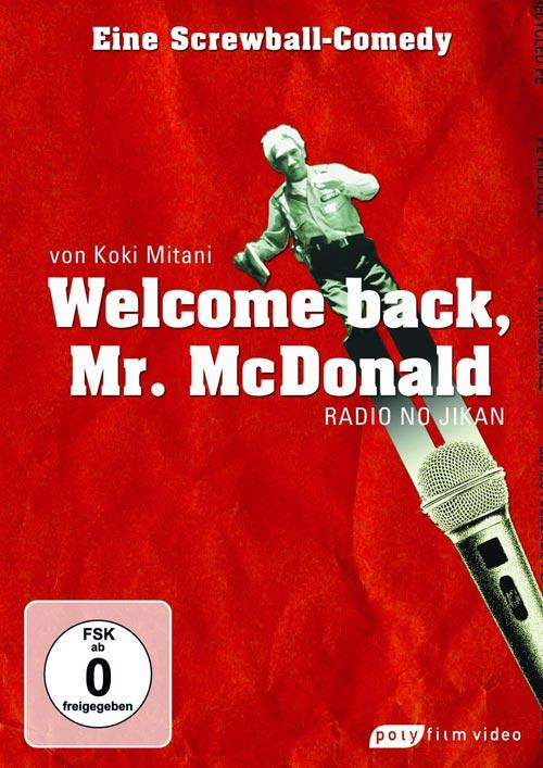 DVD Cover: Welcome Back, Mr. McDonald