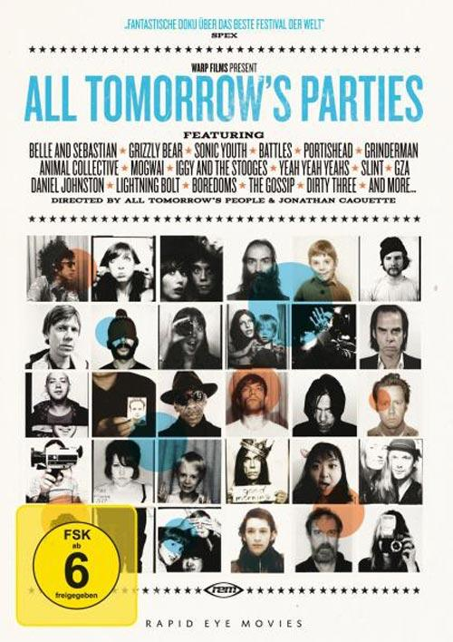 DVD Cover: All Tomorrow's Parties