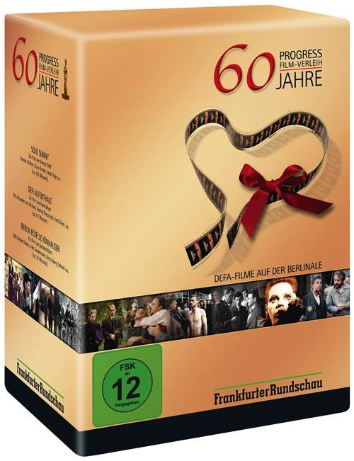 DVD Cover: 60 Jahre Progress Film-Verleih DEFA-Filme auf der Berlinale