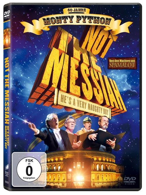 DVD Cover:  Not the Messiah - He's a very naughty boy