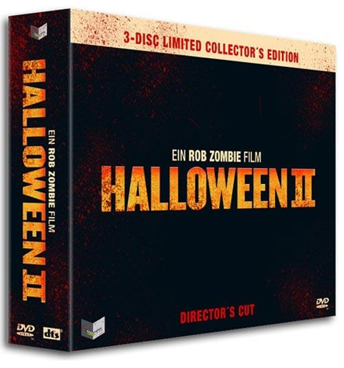 DVD Cover: Halloween II - Director's Cut - 3-Disc Limited Collector's Edition