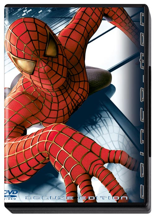 DVD Cover: Spider-Man - Deluxe Edition (3er-Disc-Set)
