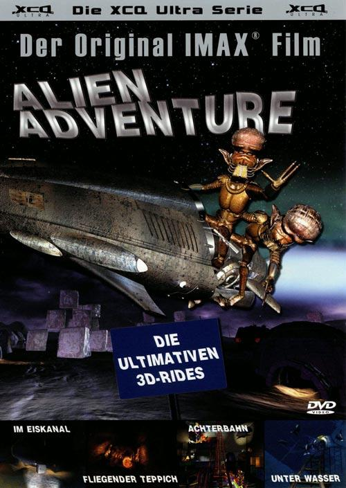 DVD Cover: Alien Adventure - Die ultimativen 3D-Rides