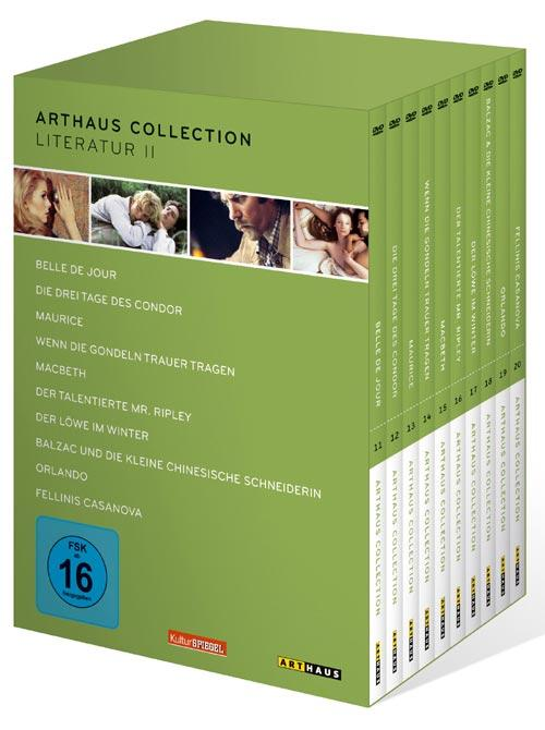 DVD Cover: Arthaus Collection - Literatur II