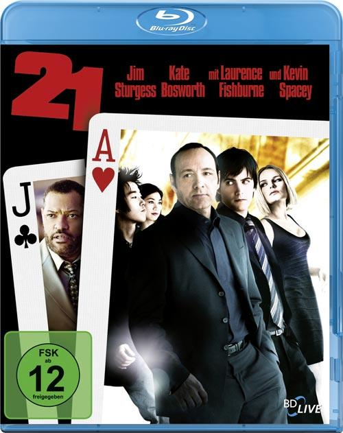 DVD Cover: 21