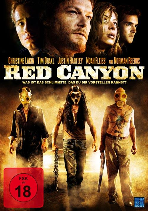 DVD Cover: Red Canyon