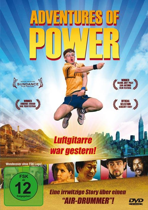 DVD Cover:  Adventures of Power