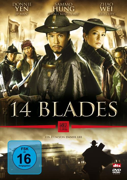 DVD Cover: 14 Blades