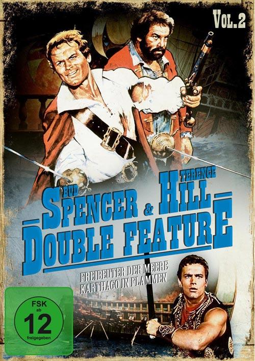 DVD Cover: Bud Spencer & Terence Hill - Double Feature Vol. 2