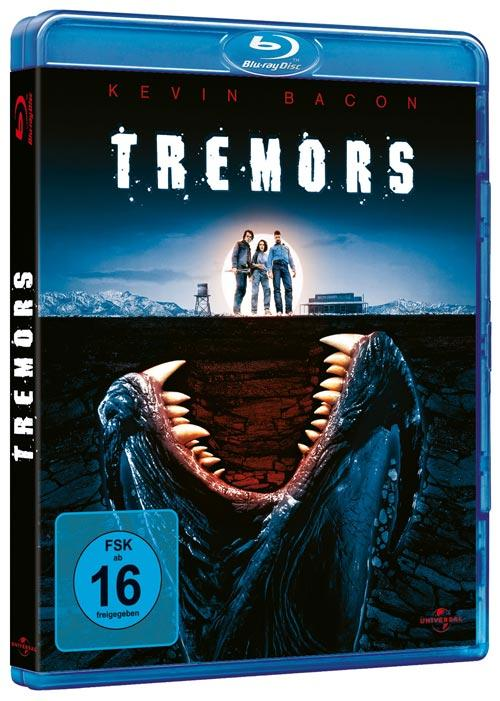 DVD Cover: Tremors - Im Land der Raketenw�rmer