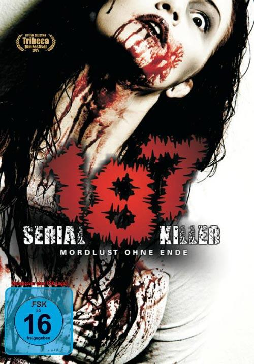 DVD Cover: 187 - Serial Killer - Mordlust ohne Ende