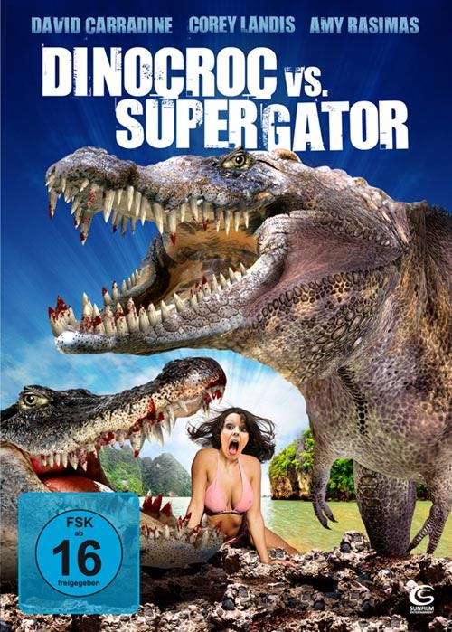 DVD Cover: Dinocroc vs. Supergator