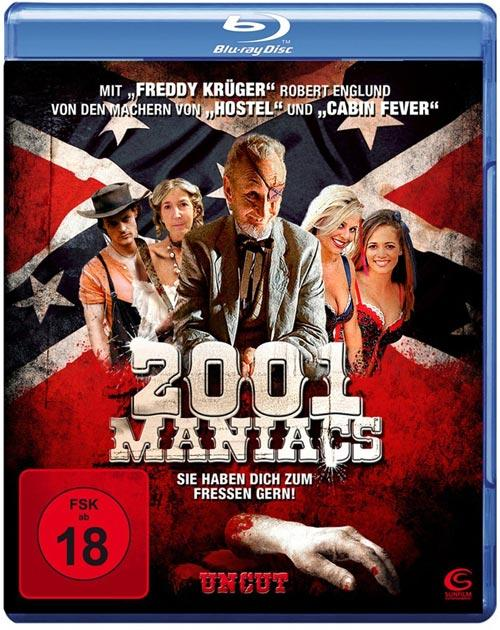 DVD Cover: 2001 Maniacs - uncut