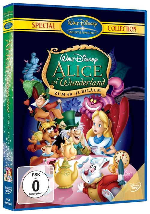 DVD Cover: Alice im Wunderland - Special Collection - zum 60. Jubil�um