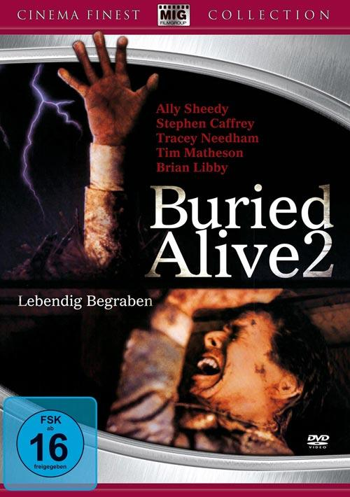 DVD Cover: Buried Alive 2 - Cinema Finest Collection