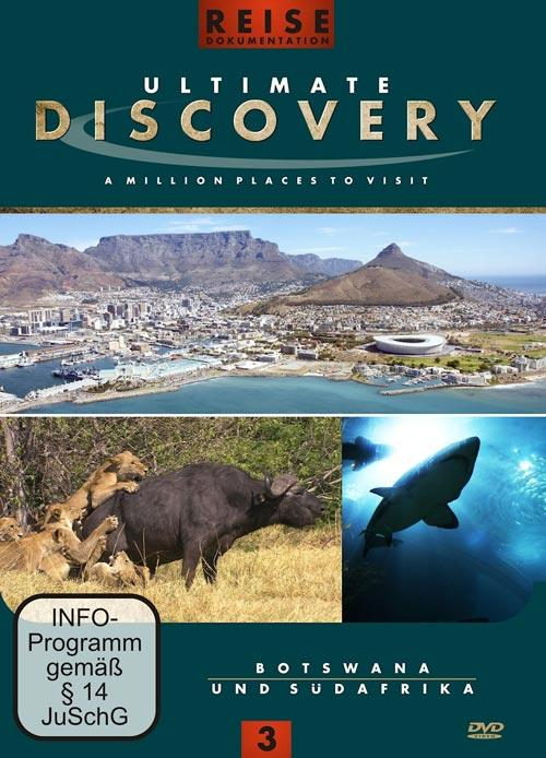 DVD Cover: Ultimate Discovery - Vol. 3 - Unbekanntes Afrika