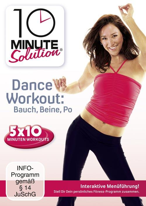 DVD Cover: 10 Minute Solution - Dance Workout - Bauch, Beine, Po
