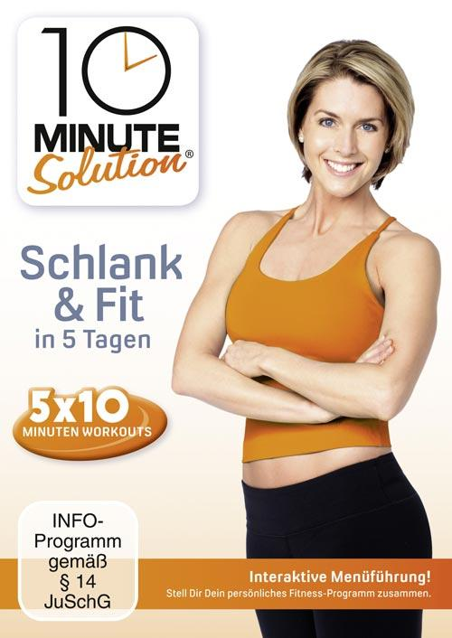 DVD Cover: 10 Minute Solution - Schlank & Fit in 5 Tagen