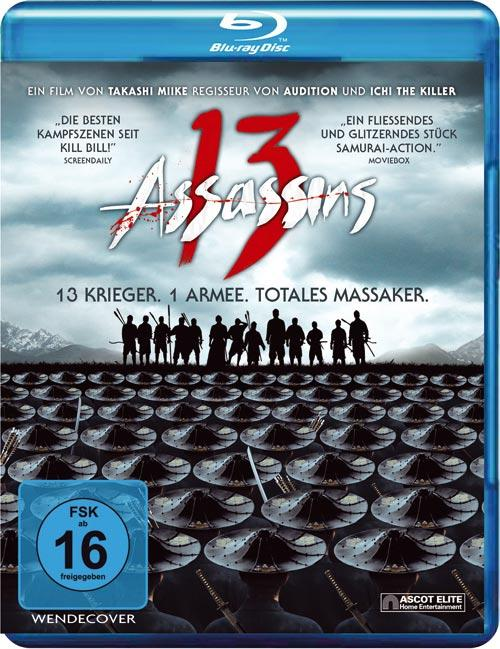 DVD Cover: 13 Assassins