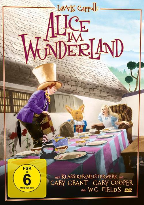 DVD Cover: Alice im Wunderland