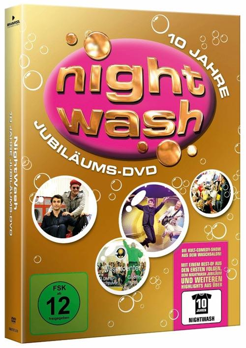 DVD Cover: 10 Jahre Nightwash