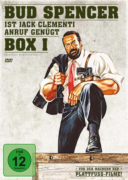 DVD Cover: Bud Spencer ist Jack Clementi - Box 1