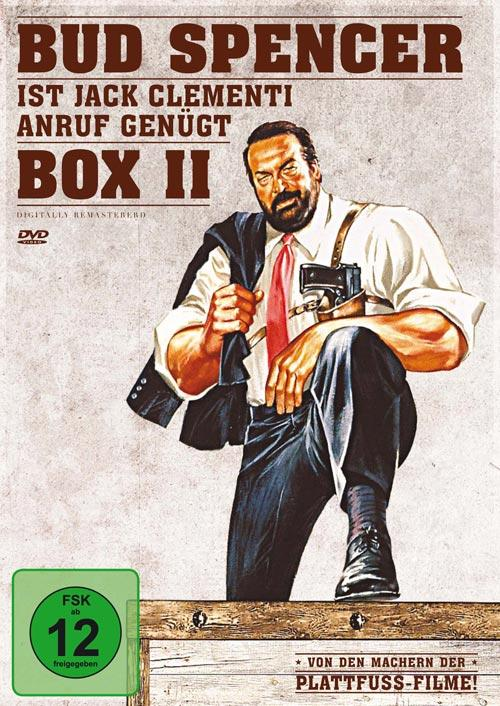DVD Cover: Bud Spencer ist Jack Clementi - Box 2