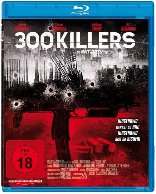 DVD Cover: 300 Killers