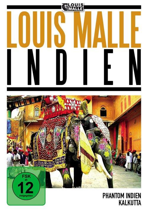 DVD Cover: Louis Malle Box: Indien