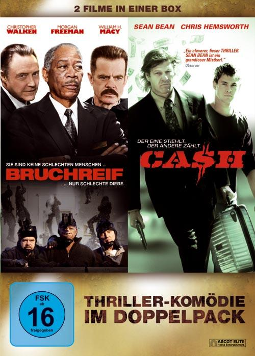 DVD Cover: 2 Filme in einer Box: Bruchreif / Cash