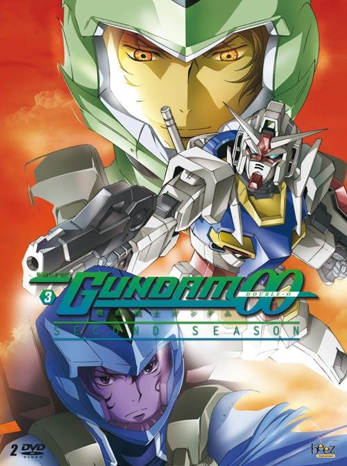 DVD Cover: Gundam 00 - Season 2 - Vol. 3
